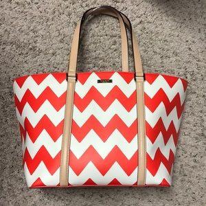 Kate Spade Chevron Beach Bag